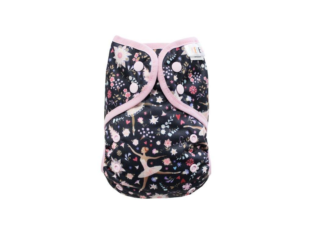 Baletky PAT, sv.růžová gumička