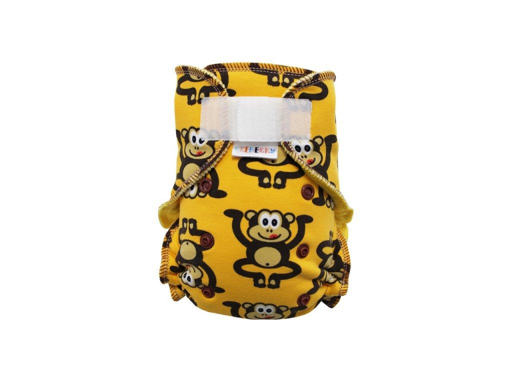 Opice žluté SZ, žlutý velur