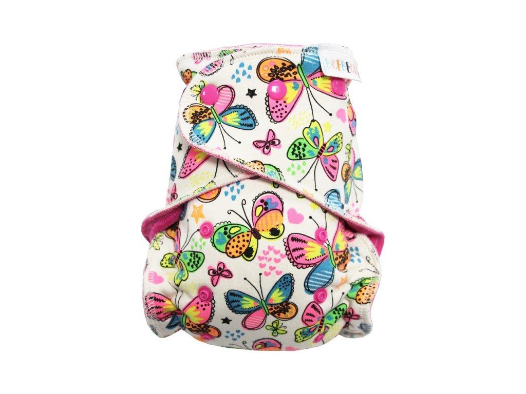 Motýlci PAT. růžový velur