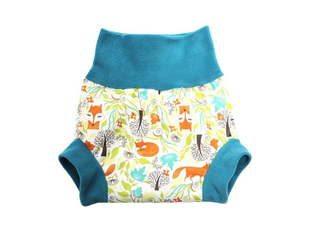 Natahovací PUL svrchní kalhotky - Lišky