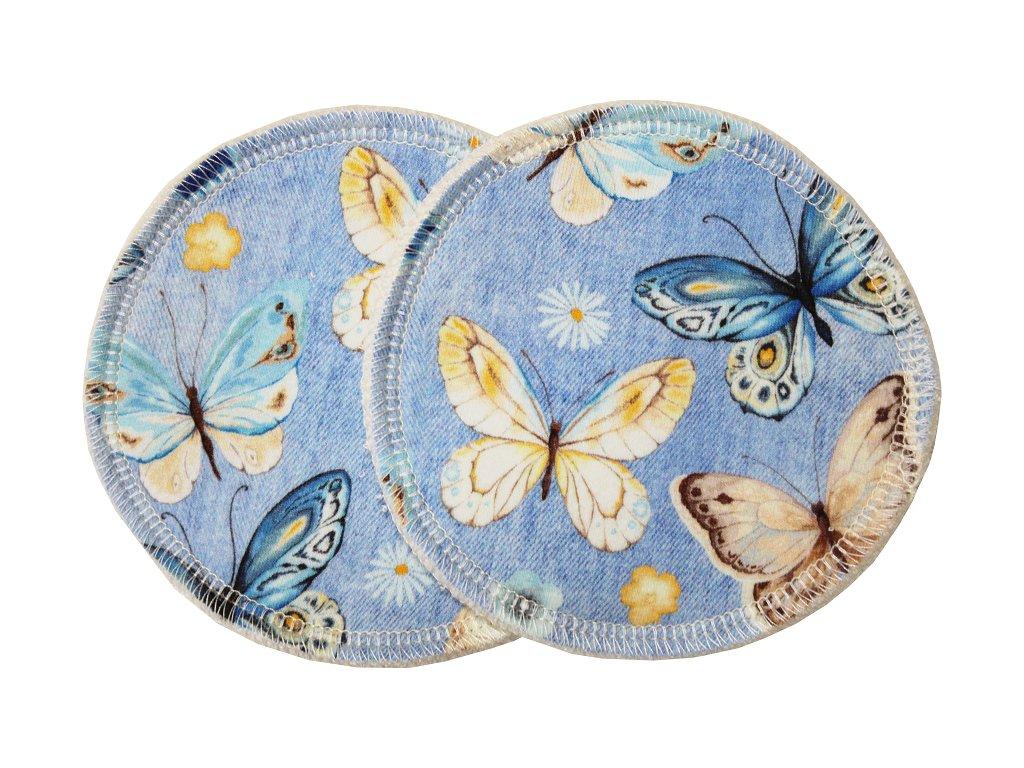 Prsní Džínoví motýli