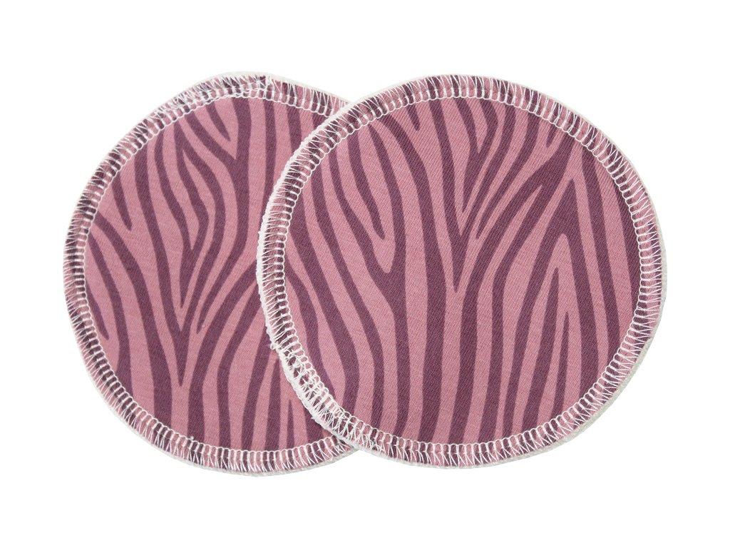 Růžová zebra
