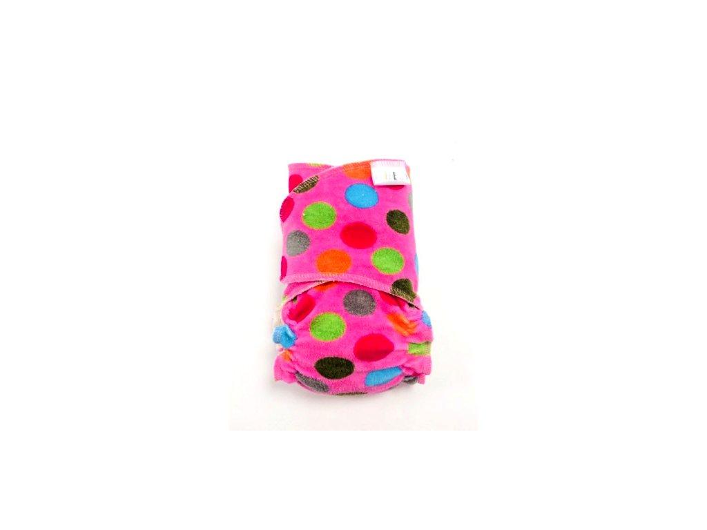 puntíky na růžové