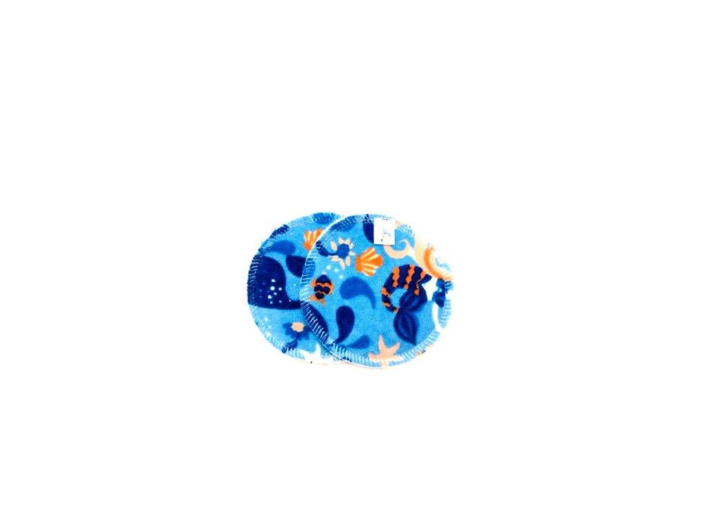 Mořská panna na modré