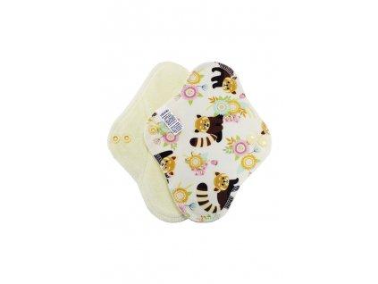 Slipovka PUL Panda červená, sv.žlutý