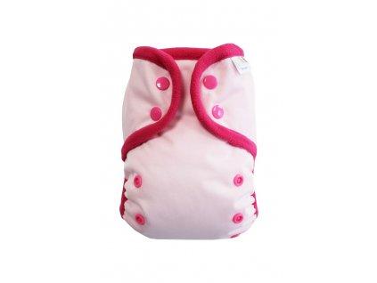 Světle růžová PAT, růžový fleece