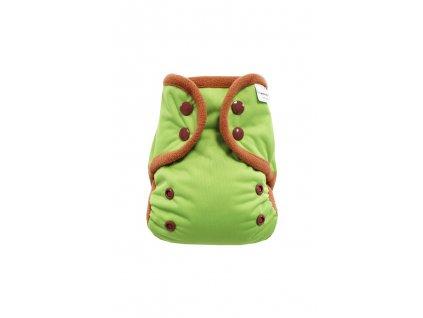 Zelené S PAT, hnědý flece