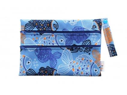 Dvoukomorový XS Ryby modré