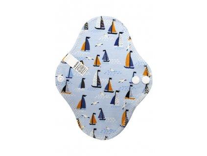 Intimka Racek a plachetnice na modré