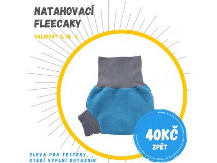 natahovaci fleece modra sleva