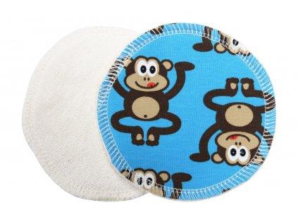 Prsní Opice modré