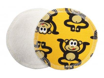 Prsní Opice žluté