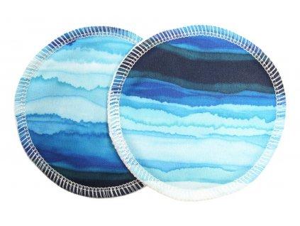 Prsní Modrá laguna