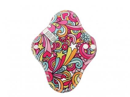 Slipovka Hippie na růžové