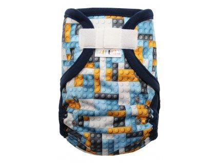 Lego XL, modrý fleece