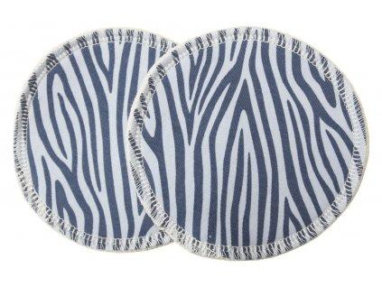 Prsní Modrá zebra