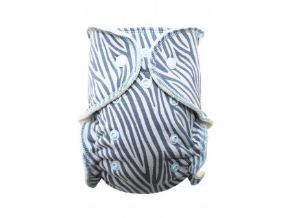 Modrá zebra S PAT