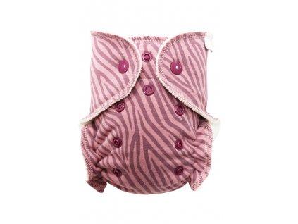 Růžová zebra S PAT