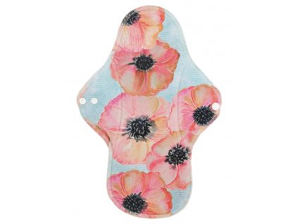 Noční XL Akvarelové květy