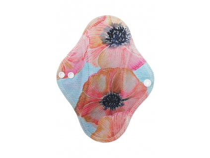 Slipovka Akvarelové květy