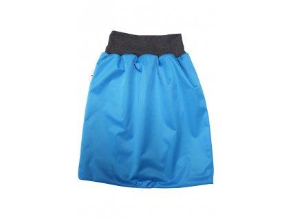 Noční sukně L Modrá