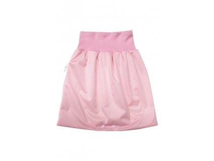 Noční sukně M Světle růžová