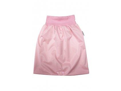 Noční sukně L Světle růžová