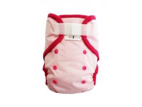 Světle růžová XL SZ, růžový fleece