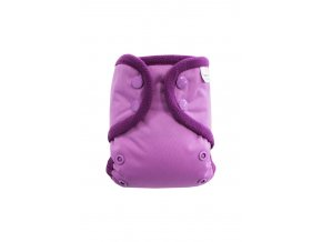 Fialové S PAT, fialový fleece
