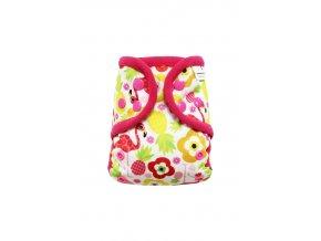 Plameňák na prázdninách S PAT, růžový fleece