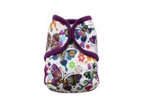 Motýlí kaleidoskop PAT, fialový fleece