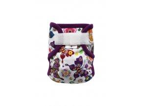 Motýlí kaleidoskop S SZ, fialový fleece