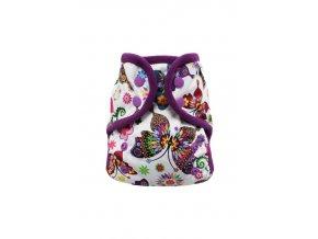 Motýlí kaleidoskop s PAT, fialový fleece