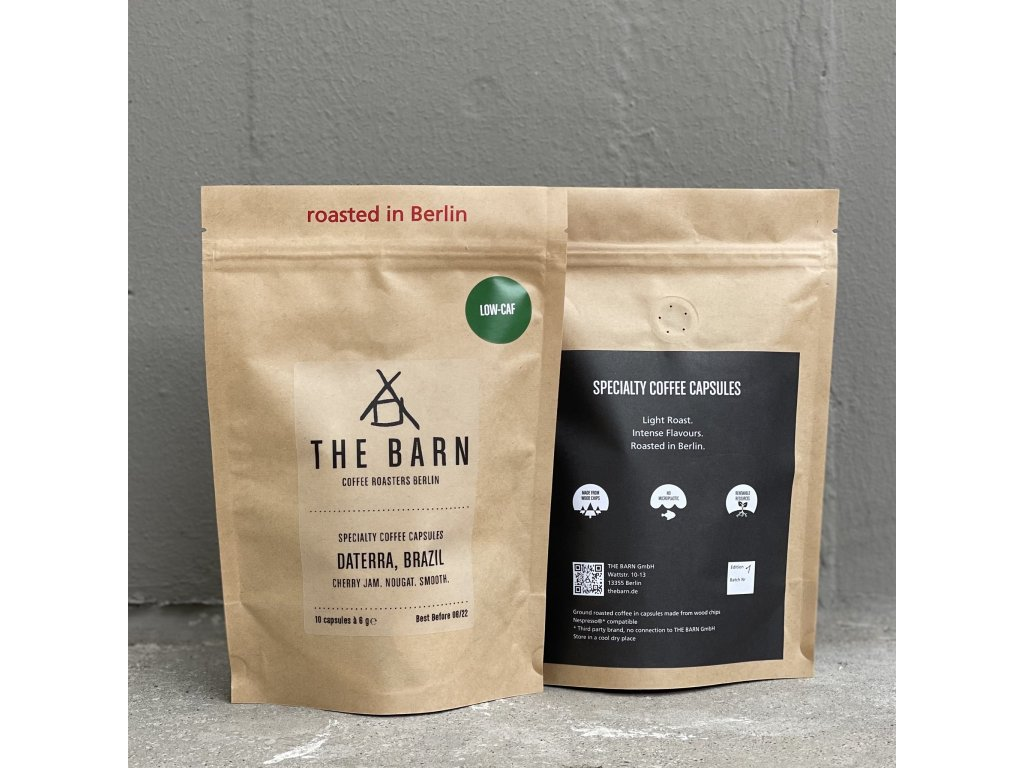 THE BARN - COMPOSTABLE CAPSULES BRAZIL LOW CAF