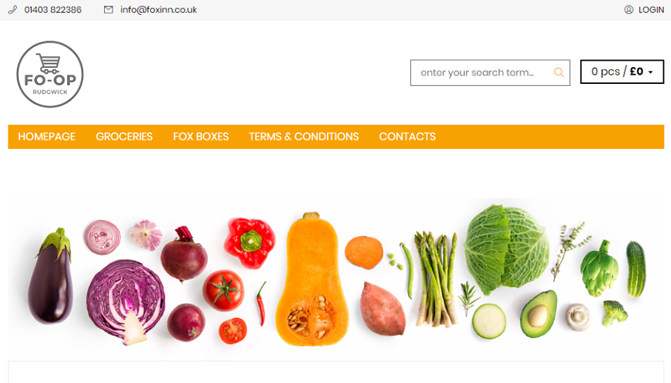 NEW ONLINE GROCERY SHOP