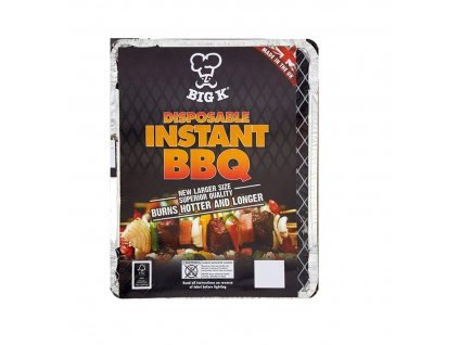 Instant Disposabe BBQ