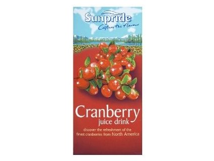 sunpride 100 cranberry juice from concentrate 1 litre
