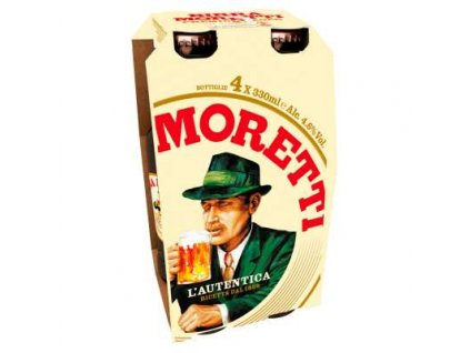 birra moretti bottles 4x330ml