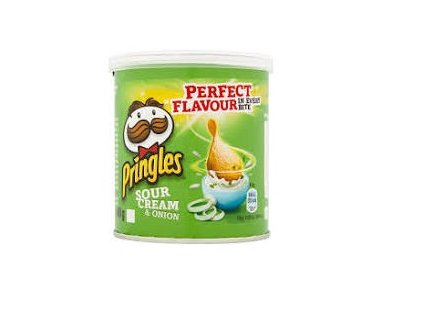 Pringles, Sour Cream and Onion, 40g