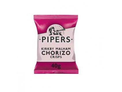 Pipers Chorizo Crisps, 40g
