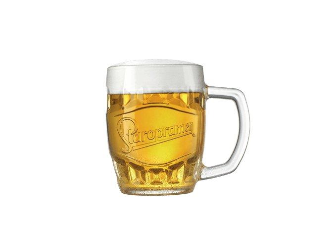 pivo lezak sklo