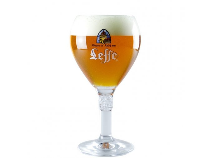 leffe beer glass 50 cl chalice glass