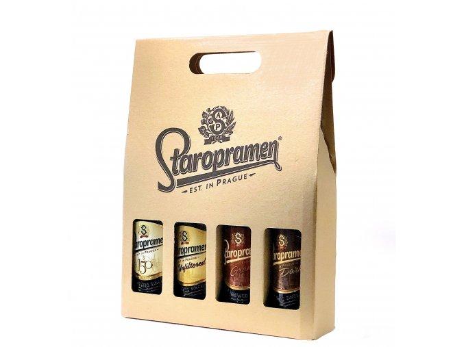 Staropramen Bottle Box | Staropramen pivní dárkový set