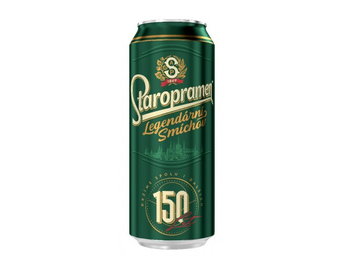 Staropramen Can Smichov 10° (6 Pack)