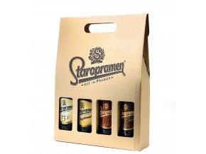 Staropramen Bottle Box / Staropramen pivní dárkový set