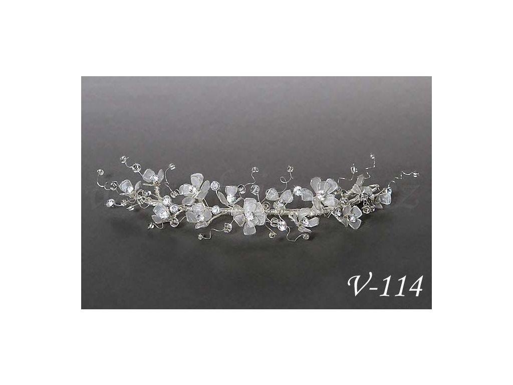 Svatebni Ozdoba Do Vlasu Drobne Cire Kvety V 114