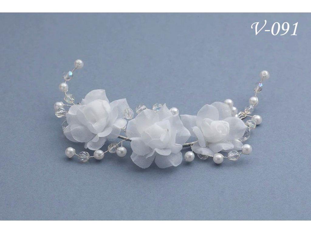 Svatební ozdoba do vlasů V-091 2fda82832a
