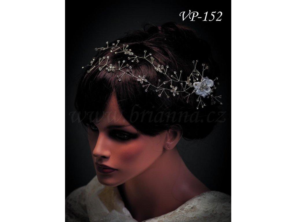 Svatebni Ozdoba Do Vlasu Kvetinovy Pas Vp 152