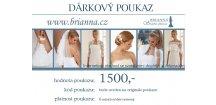 DÁRKOVÝ POUKAZ na svatební doplňky 1500,-