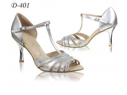 D sandal stříbro mix